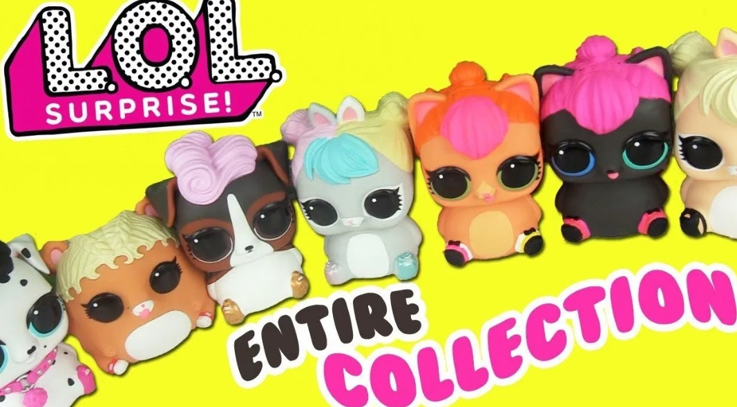 LOL Surprise Biggie Pet Collection